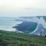 Bílé útesy na pobřeží Anglie - Seven Sisters