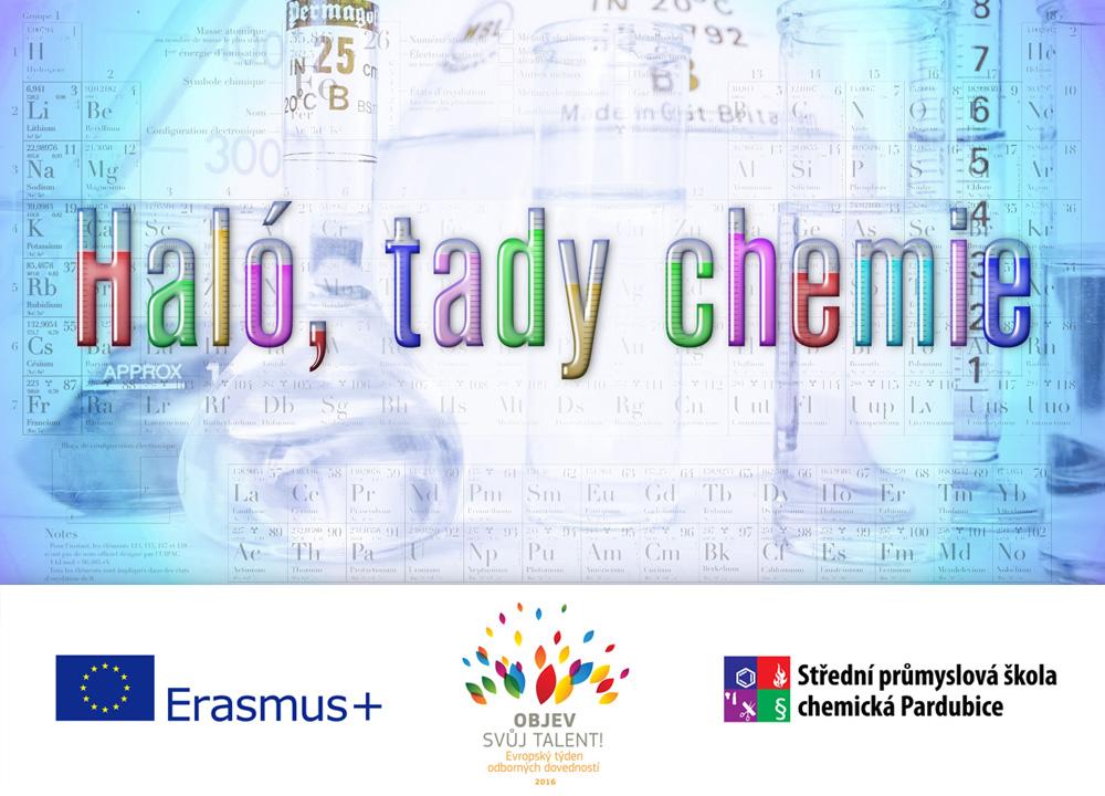 Haló, tady chemie