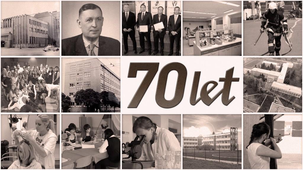 70. výročí chemického vzdělávání vPardubicích