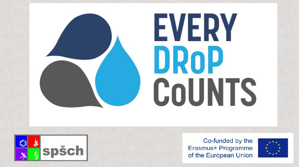EDC - Every Drop Counts - Erasmus+ project
